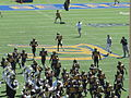 Bears take the field at UC Davis at Cal 2010-09-04 2.JPG