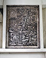 Beauchamp Roding - St Botolph's Church - Essex England - chancel Resurrection of Christ relief plaque.jpg