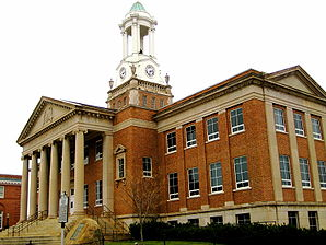 Bedford County Courthouse in Bedford