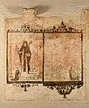 Begijnhofkerk, muurschildering , H.Clara van Assisi - 373967 - onroerenderfgoed.jpg