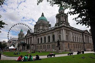 Architecture of the United Kingdom - Belfast City Hall is a municipal building in the Edwardian Baroque style.