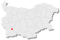 Belitsa location in Bulgaria.png