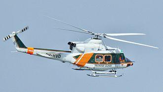 Bell 412 - A Finnish Frontier Guard Agusta Bell AB-412