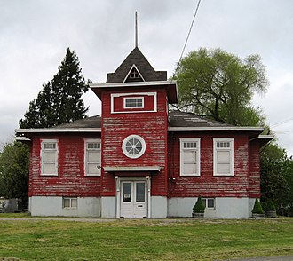 Bellevue, Oregon - Former school building