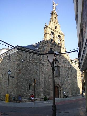 Bembibre - Church of San Pedro Apóstol in Bembibre.