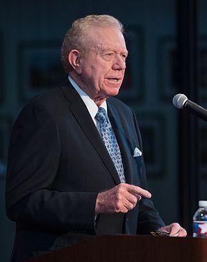 Ben Barnes (politician) - Barnes at the LBJ Presidential Library in 2015