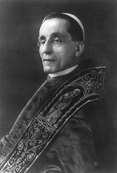 Image du pape Benoît XV