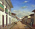 Benedito Calixto de Jesus - Rua da Quitanda, 1858 (Rua Alvares Penteado e São Bento), Acervo do Museu Paulista da USP.jpg