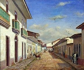 Rua da Quitanda, 1858 (Rua Alvares Penteado e São Bento)