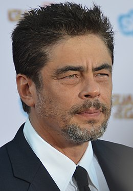 Benicio Del Toro - Guardians of the Galaxy premiere - July 2014 (cropped).jpg