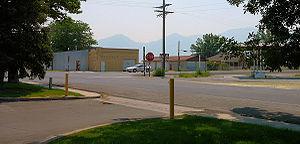 Benjamin, Utah - The center of town