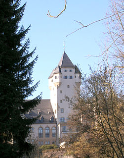 principal residence of the Grand Duke of Luxembourg