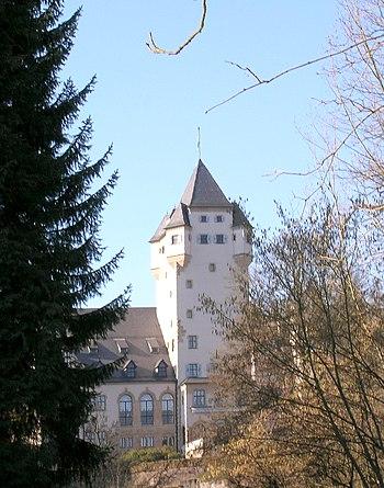 El Castillo de Berg, principal residencia de la familia gran ducal de Luxemburgo.