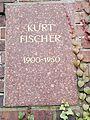 Berlin Friedrichsfelde Zentralfriedhof, Gedenkstätte der Sozialisten (Urnenwand) - Fischer, Kurt.jpg