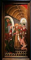 Sant Jaume el major bateja el mag Hermògenes
