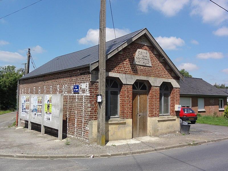 Bersillies (Nord, Fr) salle des fêtes