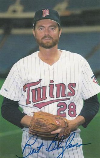 Bert Blyleven - Blyleven in 1987