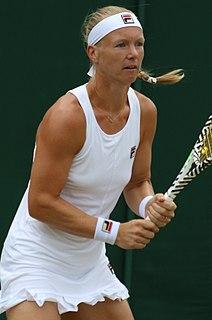 Kiki Bertens Dutch tennis player