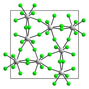 Uranium pentafluoride - β form
