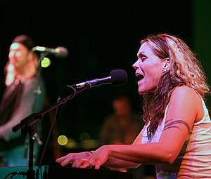 Beth Hart - Hart performing at San Diego Indie Music Fest, March 20, 2008