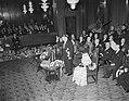 Bezoek Franse president en mevrouw Coty aan Amsterdam, ontvangst in stadhuis, Bestanddeelnr 906-6090.jpg