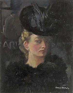 Jeanne Bieruma Oosting - Self portrait (1932)