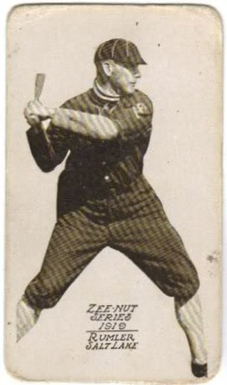 Bill Rumler - After his suspension in 1920, Rumler was forced to play in outlaw leagues until 1929, when his ban was lifted.