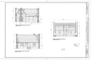 Biltmore Forestry School, Brevard, Transylvania County, NC HABS NC-402 (sheet 6 of 9).png