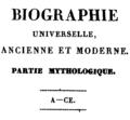 Biographie universelle ancienne et moderne - 1811 - Tome 53 - Titre.png