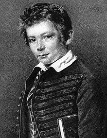 Portrait de Bismarck à l'âge de 11 ans