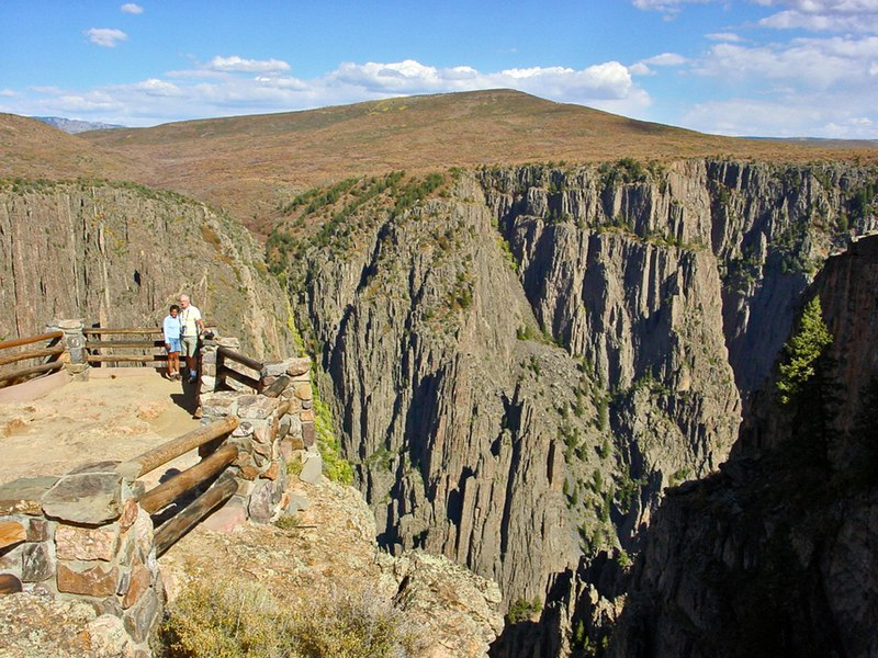File:Black Canyon of the Gunnison - panoramio - Frans-Banja Mulder (1).jpg