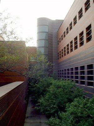 Black Engineering Building - Image: Black Hall Courtyard (Iowa State University)