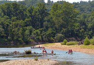 Black River (Arkansas-Missouri) - The Black River in Missouri is popular with canoers and rafters.