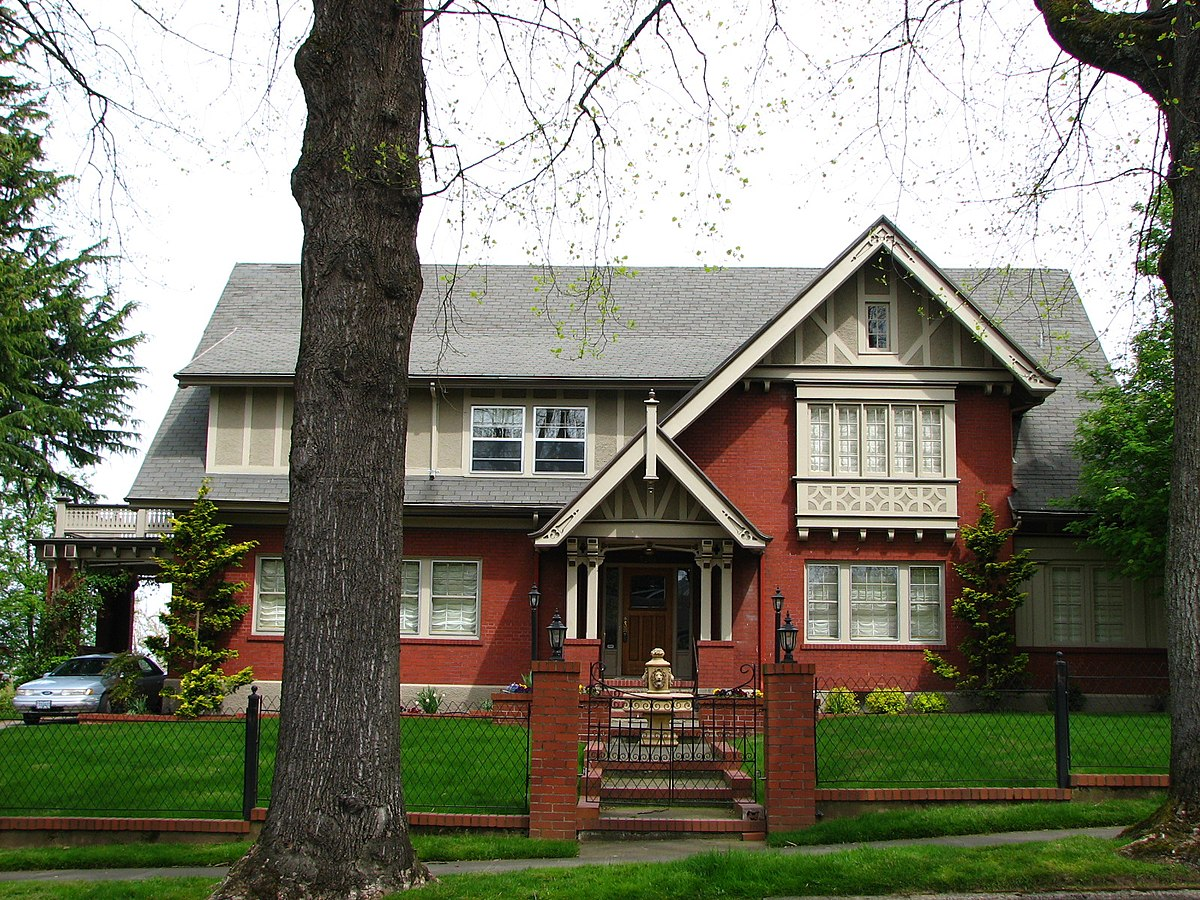Blaine smith house wikipedia for Building a home in oregon