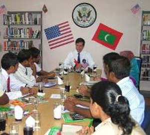 Foreign relations of the Maldives - Ambassador Robert O. Blake, Jr. in November 2007