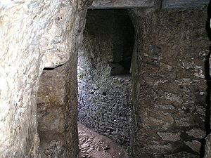 The dungeons of Blarney Castle