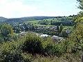 """Blick vom """"Hahn"""" auf den Rotenweg in Winterburg - panoramio.jpg"""