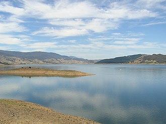 Blowering Dam - Blowering Dam, in 2006.