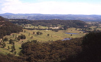 Little Hartley, New South Wales - View towards Little Hartley, from Berghofers Pass