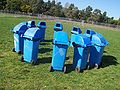 Blue rubbish bins in a circle.jpg