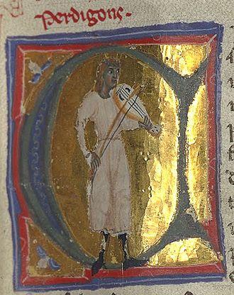 Perdigon - Perdigon, with his famous fiddle.