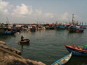 Boats at Quy Nhon Wharf