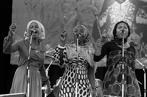 Rita Marley, Marcia Griffiths y Judy Mowatt