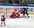 Bodrov, Nikontsev, Yakhin, Plotnikov 2011-10-10 Amur—Spartak Moscow KHL-game.jpeg