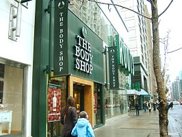 The Body Shop inToronto