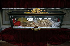 Body of Blessed Paolo Burali D'Arezzo - San Paolo Magiore - Naples - Italy 2015.JPG
