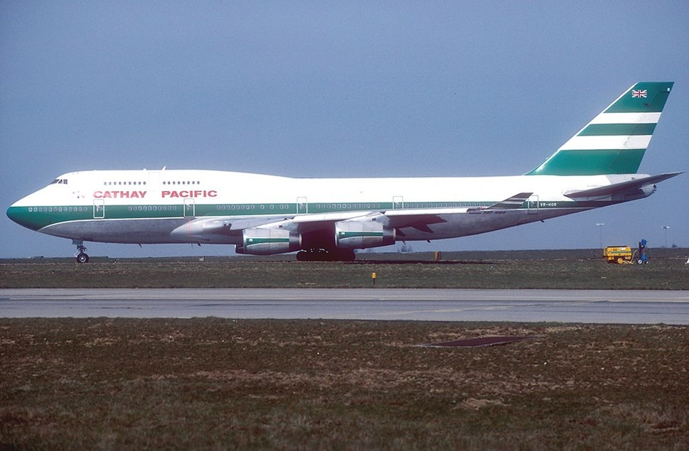 Boeing 747-467, Cathay Pacific Airways AN0664170