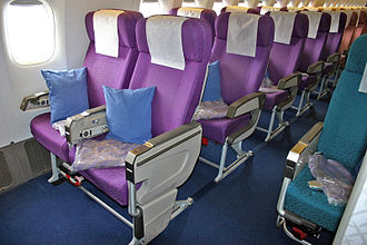 Malaysia Airlines Flight 370 - Economy Class Seats (2004)