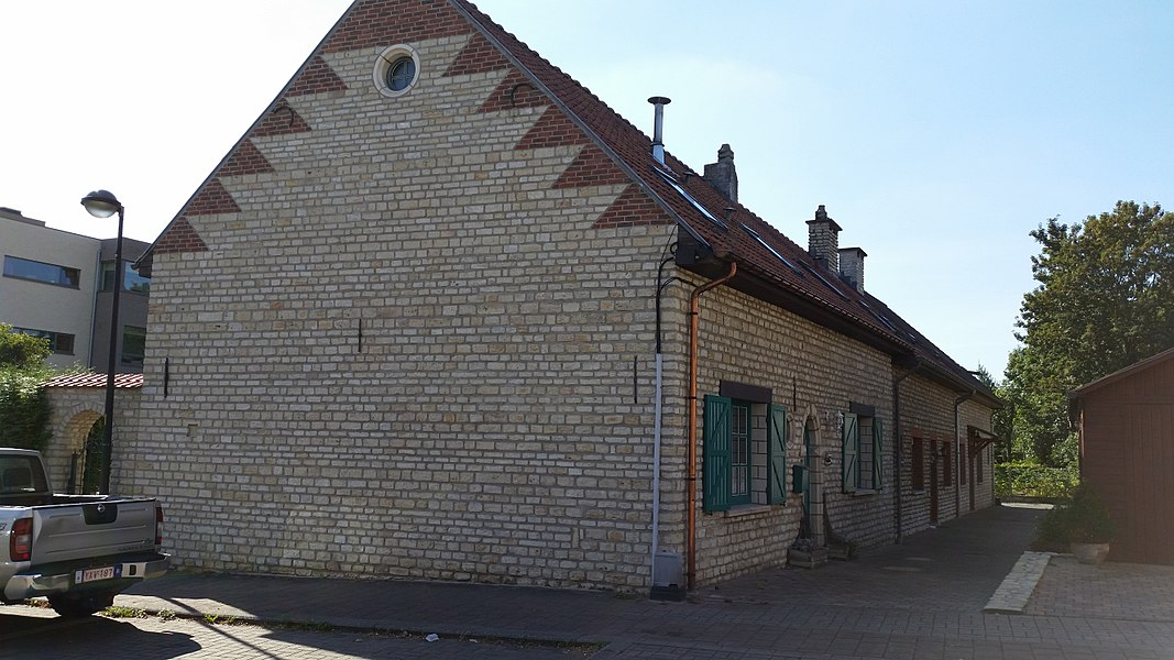 Peasant houses, heritage buildings in Zaventem, Flemish Brabant, Belgium.