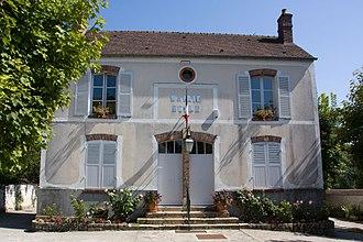 Boigneville - The town hall of Boigneville